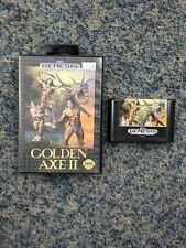 Sega Genesis Golden Axe II *TESTED* *WORKS*