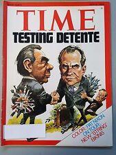 Time Magazine July 1 1974 Testing Detente Pat Nixon String Bikinis - Weekly