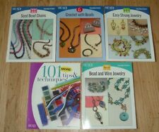 Bead & Button - Beadwork - Beading - LOT of booklets for Projects - Jewelry