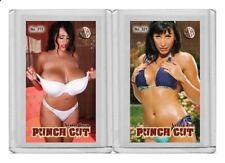 Leanne Crow rare MH Punch Cut #'d 3/3 Tobacco card no. 315
