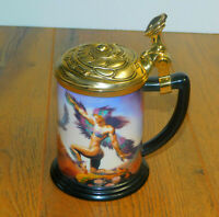 Mistress Of The Skies Collector Tankard By Boris Franklin Mint Stein