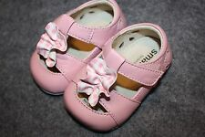 See Kai Run Tiana Pink Gingham Bow Infant Baby Shoes 0-6 Months