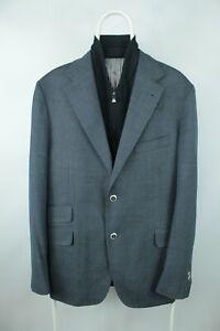 Corneliani ID Wool Blazer with zip lining Men Size 54