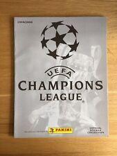 Panini Champions League 1999/2000 Empty Sticker Album #2