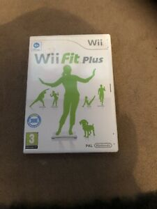 Wii Fit Plus + Manual Disc Only You Need Balance Board