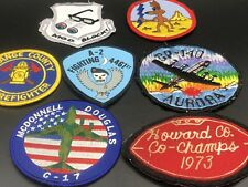 Vtg Patch Lot Sports Military Firefighter American