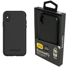 Genuine OtterBox Symmetry Series Tough Case Cover for iPhone X - Black NEW