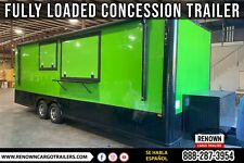 Concession Bbq Trailer Fully Loaded Food Trailer Mobile Kitchen