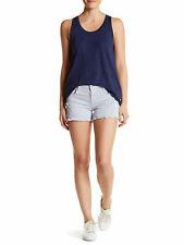 REBECCA MINKOFF Women's Water Blue Melrose Denim Shorts $98 NWT