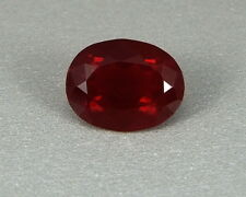 Fire Opal Blood Red Blutopal 2,04 Ct Cherry Blood-Red Fireopal Mexico Koxgems
