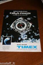 BG18=1972=TIMEX ELECTRIC OROLOGIO WATCH=PUBBLICITA'=ADVERTISING=WERBUNG=