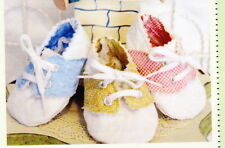 CLEARANCE - PATTERN - Quilted Baby Oxford - Cute & easy bootie PATTERN