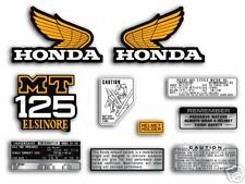 1975 Honda MT125 Elsinore - 10 pc. decal set