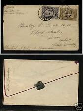 Liberia cover with official stamp to US   RL0609