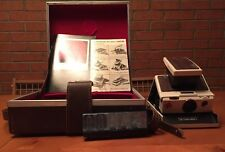 Vintage Polaroid SX-70 Model 2 Instant Film Folding Land Camera W/ Original Case