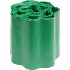 FLO 88702 Bordatura per Giardino Prato, in Plastica Dura Verde, Ondulato