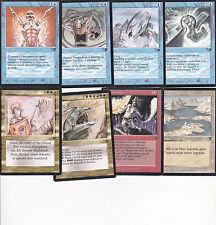 LOT x8 cartes MAGIC MTG LEGENDS ENGLISH 1994 EX-NM Vaevictis Asmadi...VINTAGE