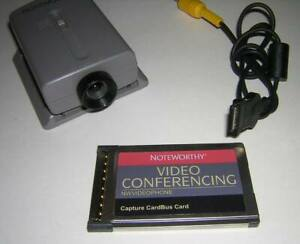 NoteWorthy Video Conferencing Capture CardBus Card and Camera Kit