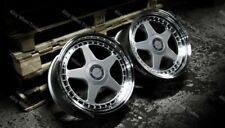 """ALLOY WHEELS X 4 18"""" DR-F5 WR FOR BMW 5 SERIES E12 E28 E34 E39 E60 E61 F10"""