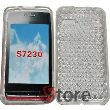 Cover Custodia Per Samsung WAVE S7230 Trasparente Gel Silcone TPU