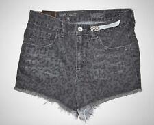 New Womens Capital Cut Off High Waist Denim Jean Shorts Size 5
