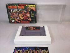 DONKEY KONG COUNTRY - SNES Super Nintendo - Complete w/ Box & Sleeve No Manual