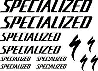 Specialized decals for frame stickers vinyl graphics bike mtb road black logo