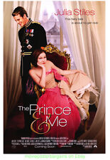 PRINCE AND ME MOVIE POSTER Original DS 27x40 LUKE MABLY JULIA STILES 2004