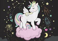 A1 Space Unicorn Constellation Poster Art Print 60 x 90cm 180gsm Fun Gift #14738