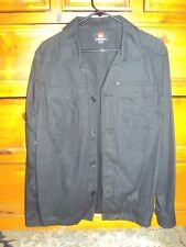 Quicksilver Jacket Coat Medium M Black Mens