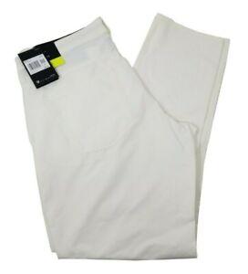 Nike White Men's Flex Slim Fit Golf Pant Size 34x30