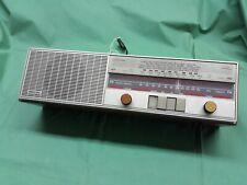 PHILIPS D2500 Two Band Radio Transistor Vintage Soprammobile TESTATA FUNZIONANTE
