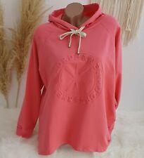 Hoodie 3D Druck Pullover Sweatshirt Kapuze Sweater Vokuhila Korall Pink 38 40 42