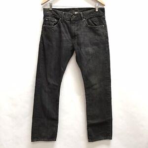 Banana Republic Jeans Mens Size 31x30 Vintage Straight Leg Gray Denim Pants