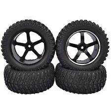 95mm RC 1/10 Short Course Rally Truck Tires Tyre Metal Wheel Rim HSP 94170 M05A7