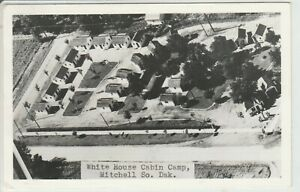 White House Cabin Camp Mitchell SD Posted 1948 To: Lyle Hoff Rockwell Iowa