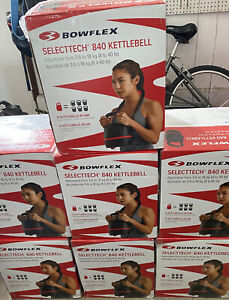 (1) Bowflex Selecttech 840 Kettlebell Adjustable Weight. Ships Fast!!!