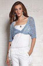 3/4 Arm Damen-Pullover & -Strickware aus Acryl mit grober Strickart