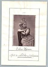 France, Paris, Opéra, Julia Hisson   Vintage print.  Phototypie  8,5x12,5