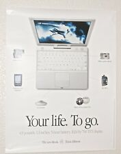 "Original Mac Book Poster Apple  ""Your Life. To Go""--219"