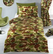 Army Camouflage Green Sand Military Duvet Cover Bedding Set