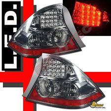 2004-2005 Honda Civic 2Dr Coupe Smoke LED Tail Lights RH & LH