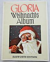 Notenheft Klavier Weihnachten Weihnachtslieder Gloria Weihnachtsalbum Bosworth