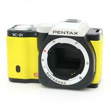 INEXPENSIVE!!  PENTAX K-01 BLACK and YELLOW BOXED