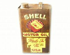 Shell Gas Classic Oil Vintage Retro Decorative Garage Petrol Fuel Jerry Can Rust
