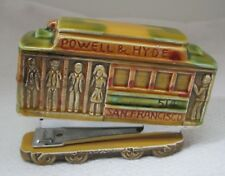 Vintage Powell & Mason San Francisco Pottery Desk Stapler Trolley Car Shape T106
