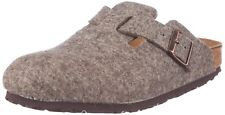 *NEW* BOSTON 39 M SIZE 8-8.5 US WOMEN'S {COCOA BROWN} WOOL CLOGS BY BIRKENSTOCK