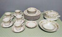 """Vintage Sterling Fine China Made In Japan """"Florentine"""" Dinning Set"""
