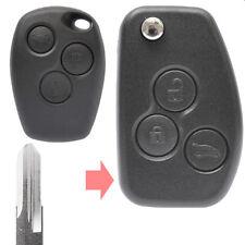 Klapp Schlüssel Umbau Gehäuse Renault Clio Kangoo Laguna Twingo 3 Tasten VAC102