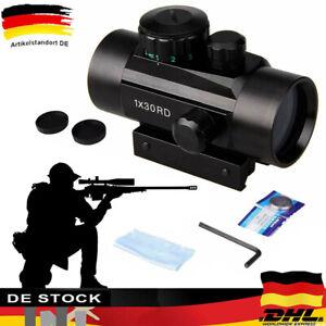 Zielfernrohr Leuchtpunktvisier luftgewehr Leuchtpunkt Laser Dot Sight & Montage